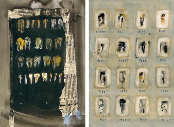 """""""La fosa"""" y """"Inventario 11089"""". 32,5 x 23 cm."""