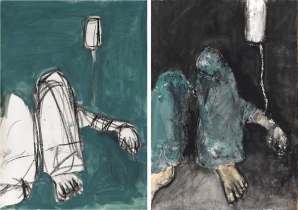 R.Zaera.Boceto de La espera y La espera, 2008La espera