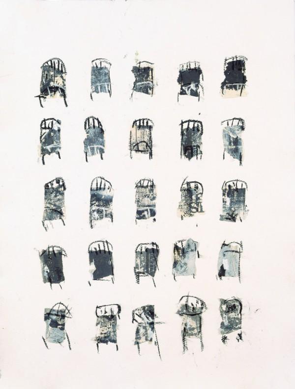 """Nido"", 2001. 67 x 50 cm."